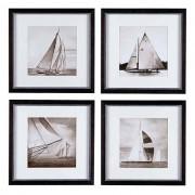 Постеры Eichholtz 104815 Michael Kahn Boat (4 шт.)
