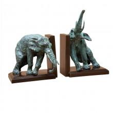 Держатель для книг Eichholtz 107369 Lazy Elephant (набор из 2 шт.)