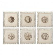 Постер Eichholtz 108264 Roman Coins (6 шт.)