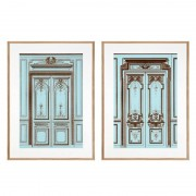 Постеры Eichholtz 109444 French Salon Doors (2 шт.)