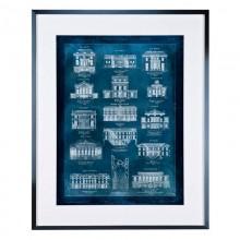Постер Eichholtz 109448 Maisons a Paris