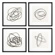 Постеры Eichholtz 110127 Black & White Collection II (4 шт.)