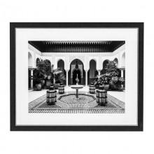Постер Eichholtz 110870 EC250 Courtyard with fountain Marrakech