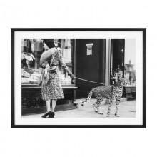 Постер Eichholtz 111749 Elegant Woman with Cheetah
