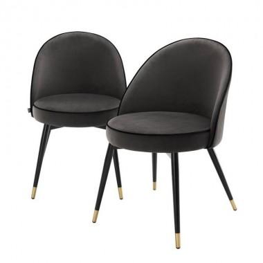 Обеденный стул Eichholtz 113125 Cooper (2 шт.)